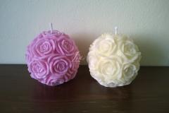 Nádherné gule plné ruží